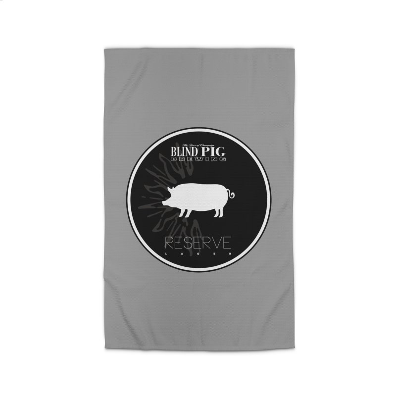 NEW Blind Pig Brewing Reserve CAN logo Home Rug by Blind Pig Brewing Emporium of Fancy Stuff & Things