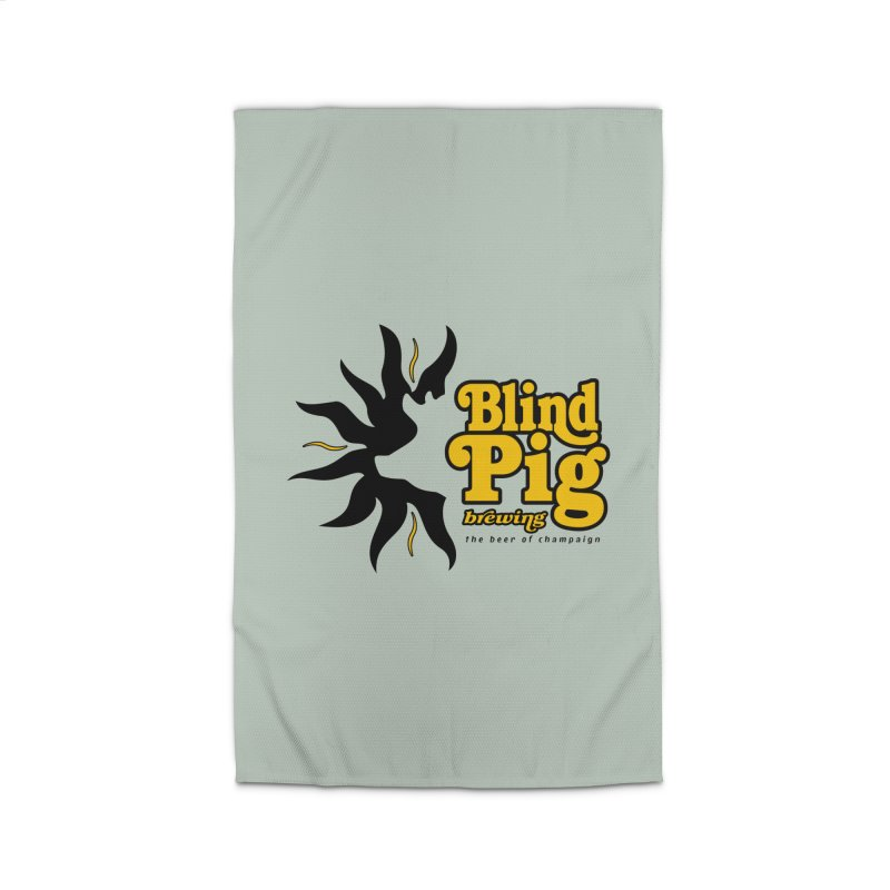 NEW Blind Pig Brewing WIDE logo Home Rug by Blind Pig Brewing Emporium of Fancy Stuff & Things