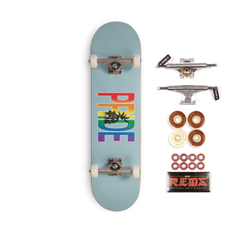 Piggy Pride Accessories Skateboard by Blind Pig Brewing Emporium of Fancy Stuff & Things