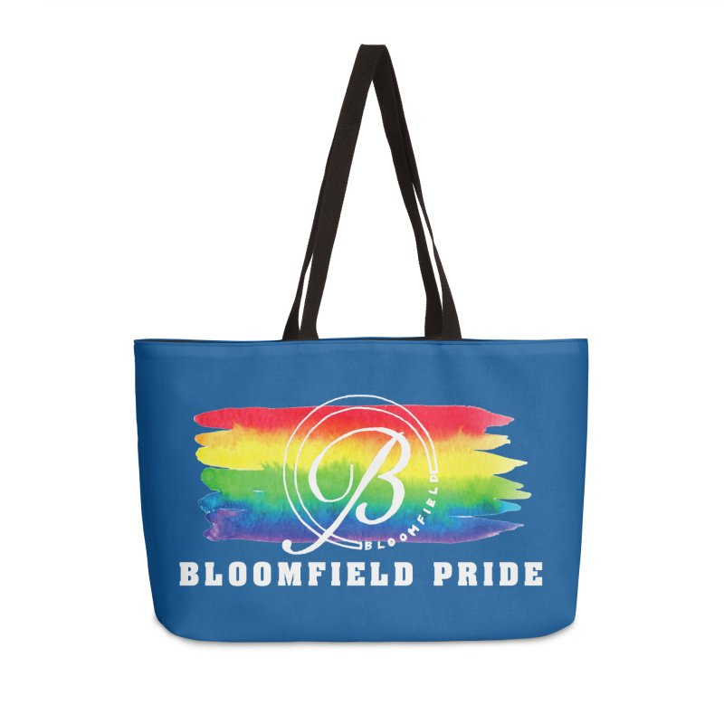 Bloomfield Pride 2019 Accessories Weekender Bag Bag by BloomfieldPride's Artist Shop