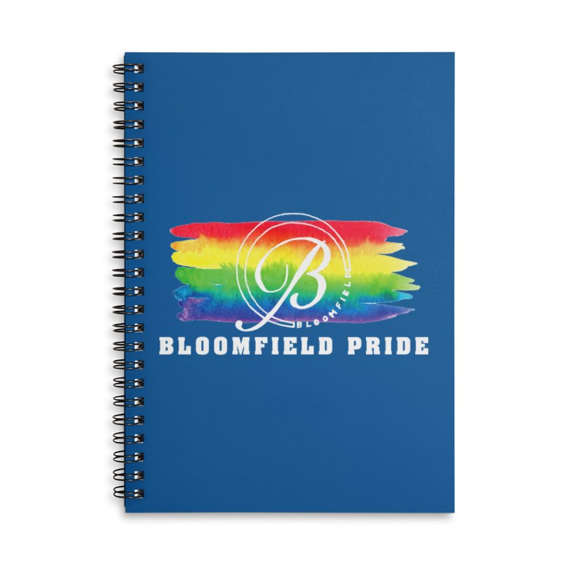 Bloomfield Pride 2019 Accessories Lined Spiral Notebook by BloomfieldPride's Artist Shop