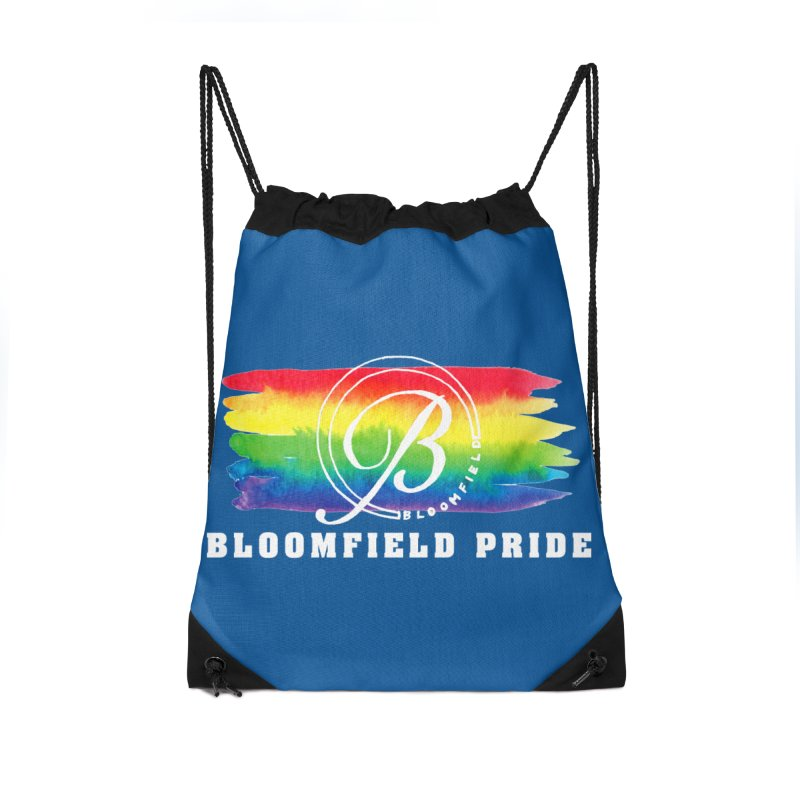 Bloomfield Pride 2019 Accessories Drawstring Bag Bag by BloomfieldPride's Artist Shop
