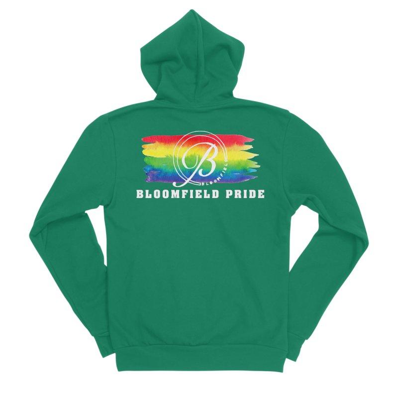 Bloomfield Pride 2019 Women's Sponge Fleece Zip-Up Hoody by BloomfieldPride's Artist Shop