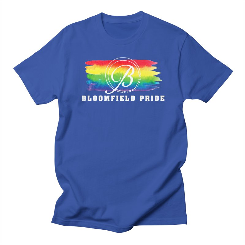 Bloomfield Pride 2019 Men's T-Shirt by BloomfieldPride's Artist Shop
