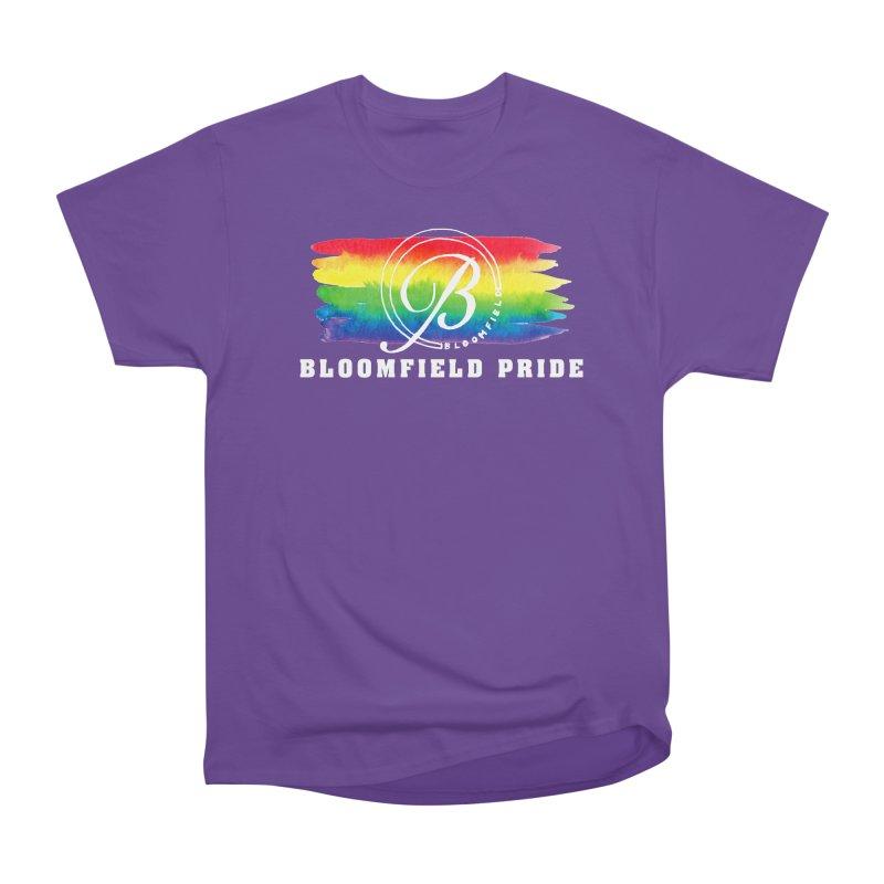 Bloomfield Pride 2019 Men's Heavyweight T-Shirt by BloomfieldPride's Artist Shop