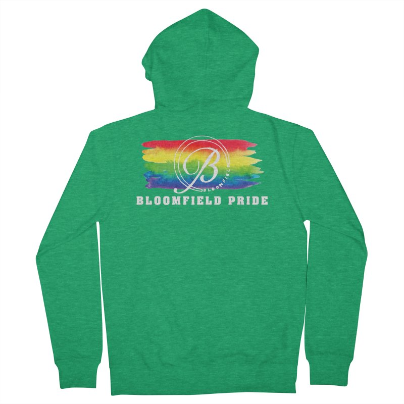 Bloomfield Pride 2019 Men's Zip-Up Hoody by BloomfieldPride's Artist Shop