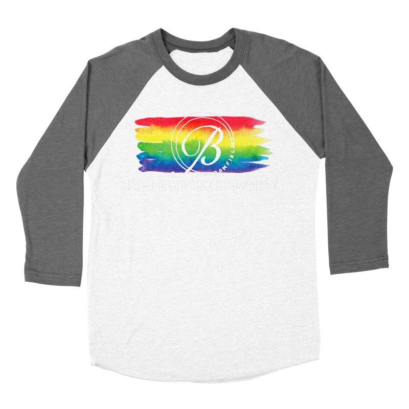 Bloomfield Pride 2019 Men's Baseball Triblend Longsleeve T-Shirt by BloomfieldPride's Artist Shop
