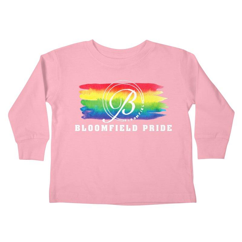 Bloomfield Pride 2019 Kids Toddler Longsleeve T-Shirt by BloomfieldPride's Artist Shop