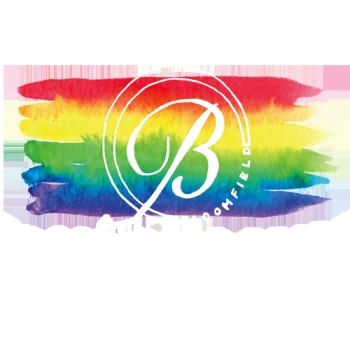 BloomfieldPride's Artist Shop Logo