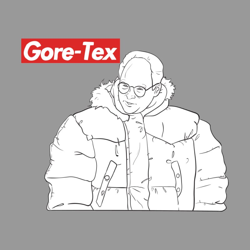 Bluechicken George Costanza Looking Puffy In Gore Tex Mens