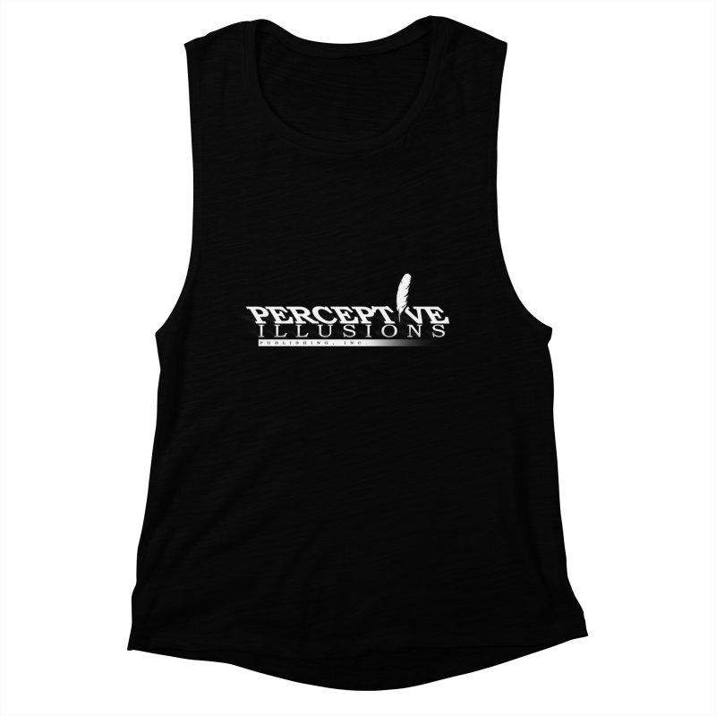 Perceptive Illusions shirts & hoodies Women's Muscle Tank by Blue Saffire's Artist Shop