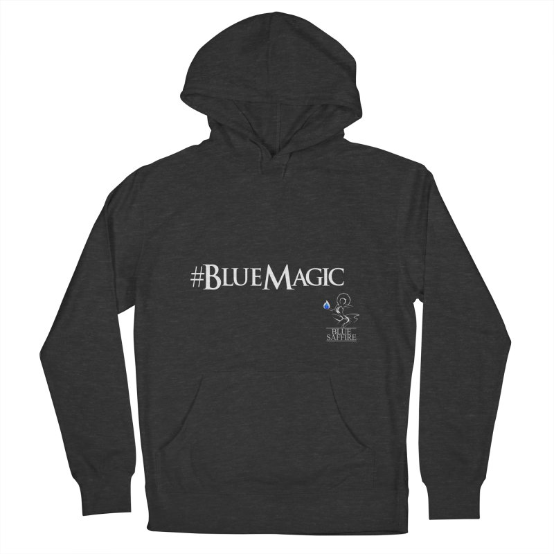 Blue Magic Tee Women's French Terry Pullover Hoody by Blue Saffire's Artist Shop