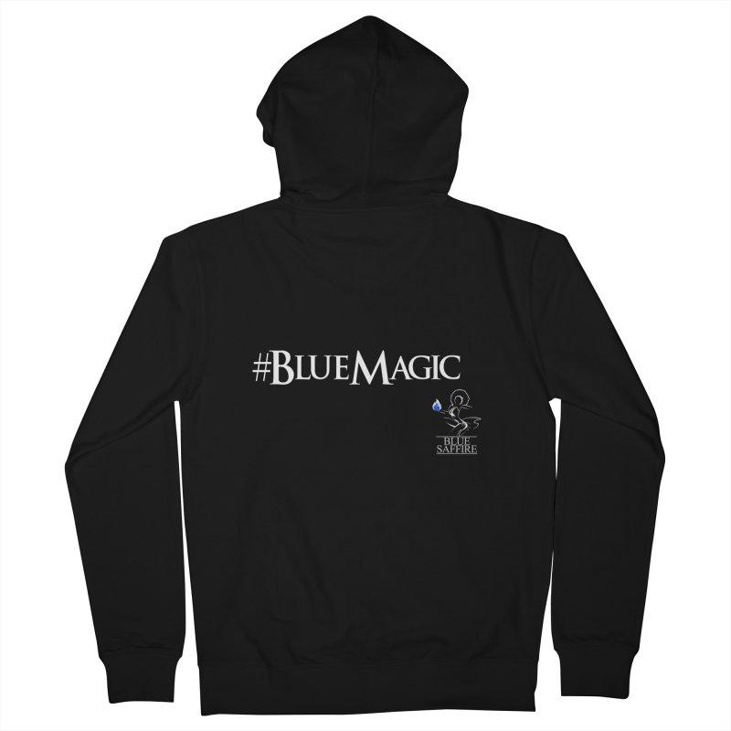 Blue Magic Tee Women's French Terry Zip-Up Hoody by Blue Saffire's Artist Shop