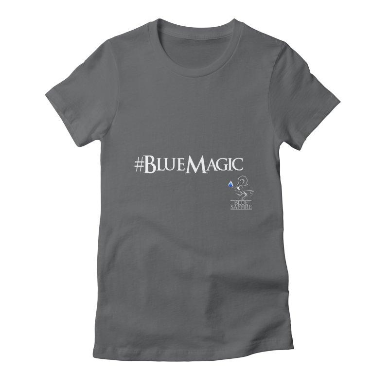 Blue Magic Tee Women's T-Shirt by Blue Saffire's Artist Shop