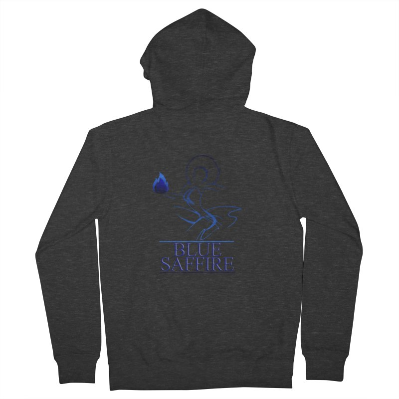 Blue Saffire Lady Tee Women's French Terry Zip-Up Hoody by Blue Saffire's Artist Shop