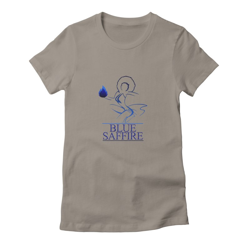 Blue Saffire Lady Tee Women's T-Shirt by Blue Saffire's Artist Shop