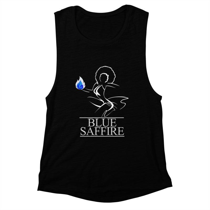 Blue Tees Lady Color Women's Muscle Tank by Blue Saffire's Artist Shop