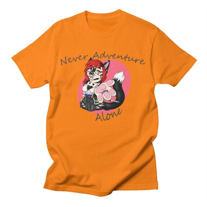 Never Adventure Alone Men's T-Shirt by Bluefeatherkitten's Artist Shop