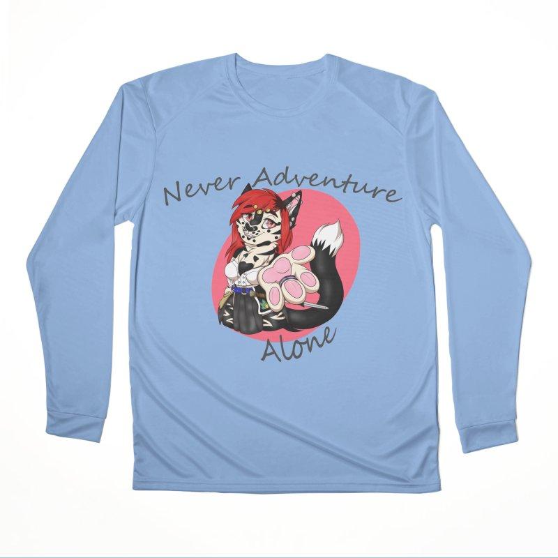 Never Adventure Alone Men's Longsleeve T-Shirt by Bluefeatherkitten's Artist Shop