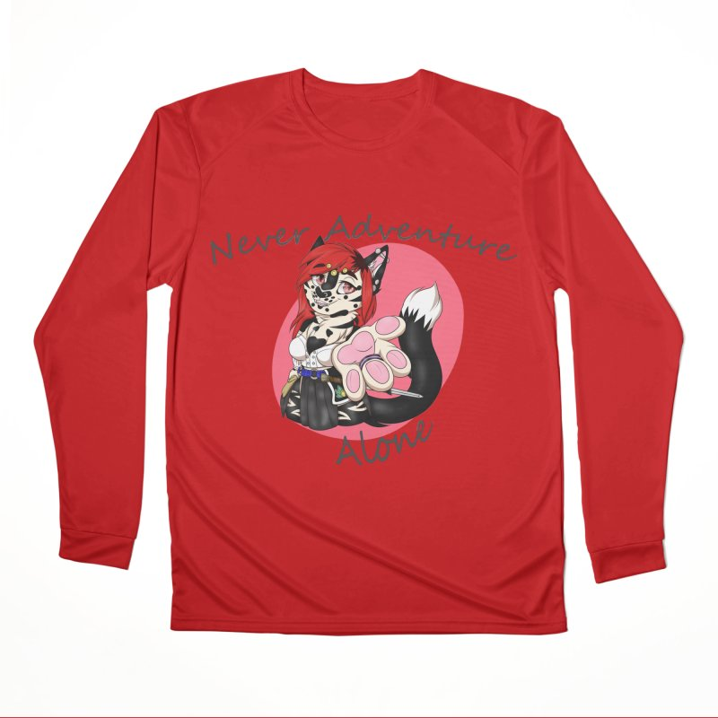 Never Adventure Alone Women's Longsleeve T-Shirt by Bluefeatherkitten's Artist Shop