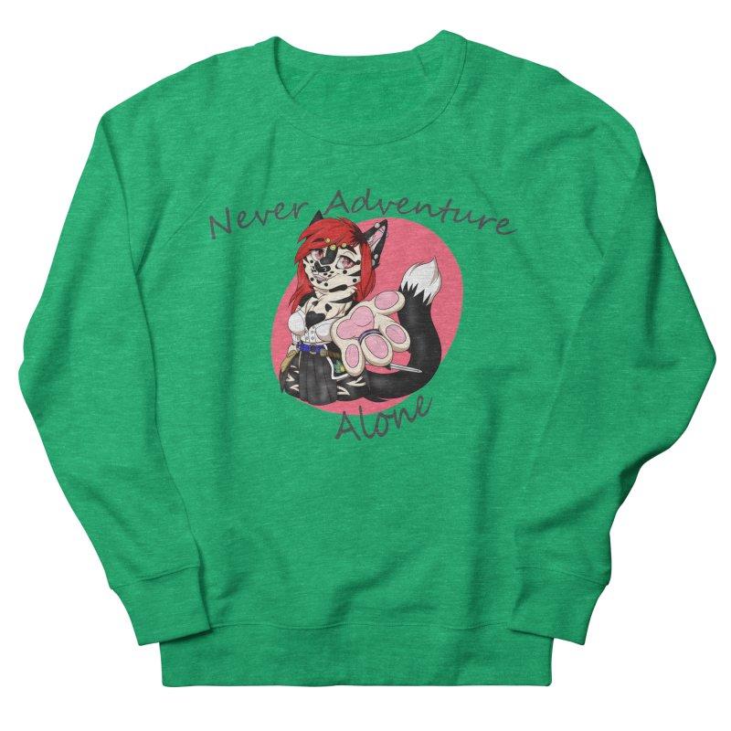 Never Adventure Alone Men's Sweatshirt by Bluefeatherkitten's Artist Shop