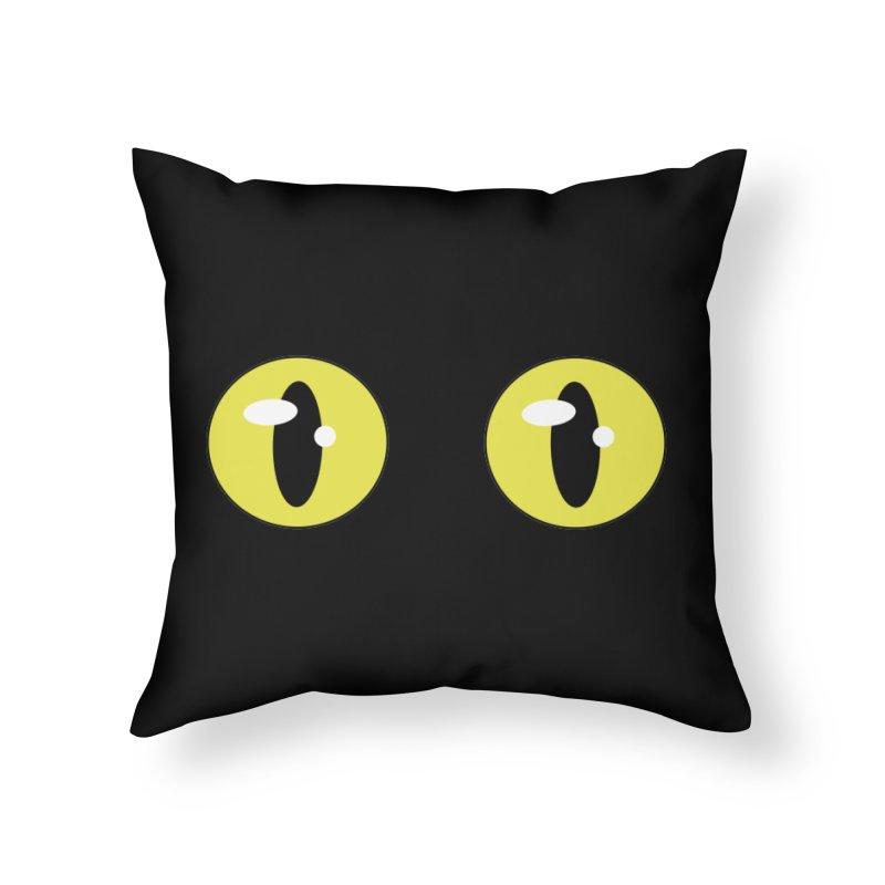 The Darkness Home Throw Pillow by Bluefeatherkitten's Artist Shop
