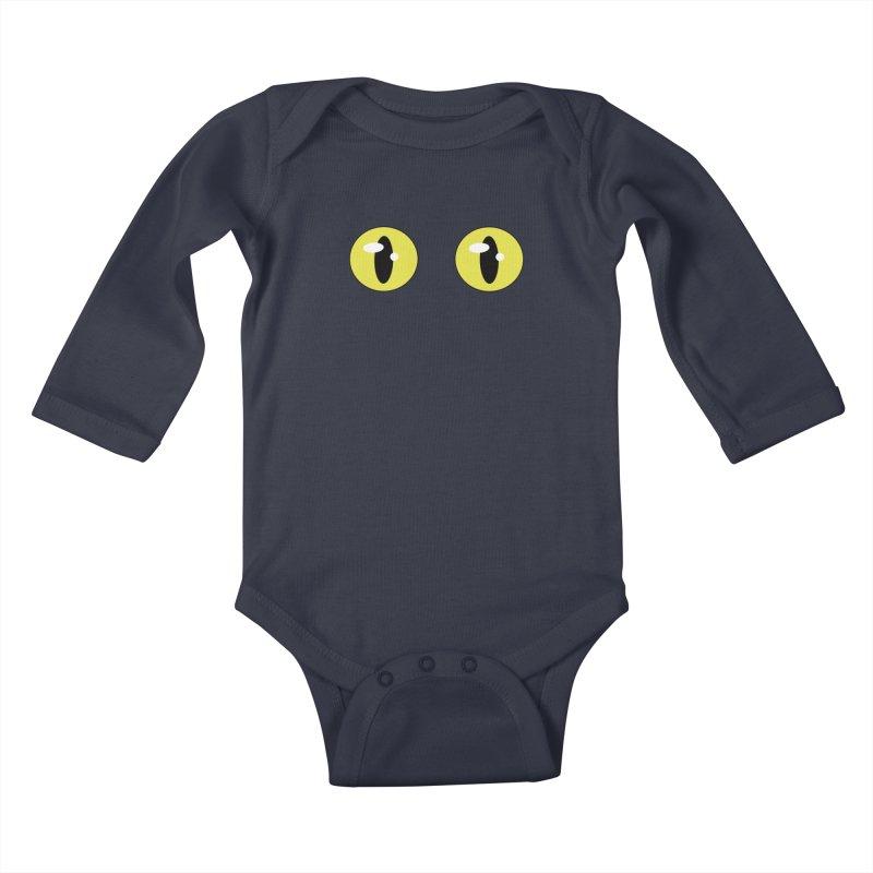 The Darkness Kids Baby Longsleeve Bodysuit by Bluefeatherkitten's Artist Shop