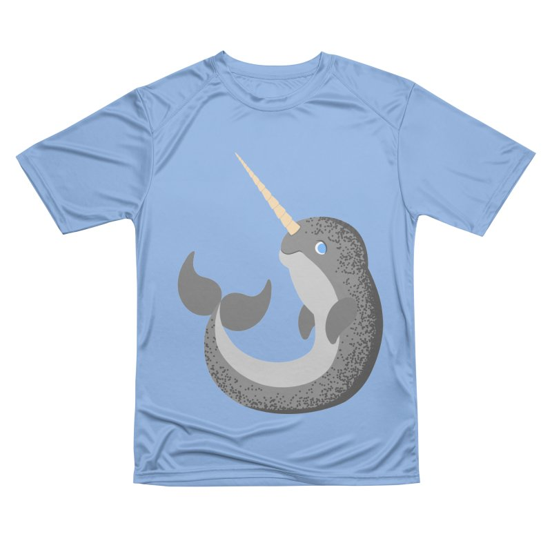Narwhal Narwhal Men's T-Shirt by Bluefeatherkitten's Artist Shop