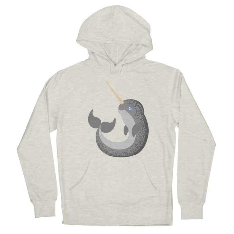 Narwhal Narwhal Men's Pullover Hoody by Bluefeatherkitten's Artist Shop