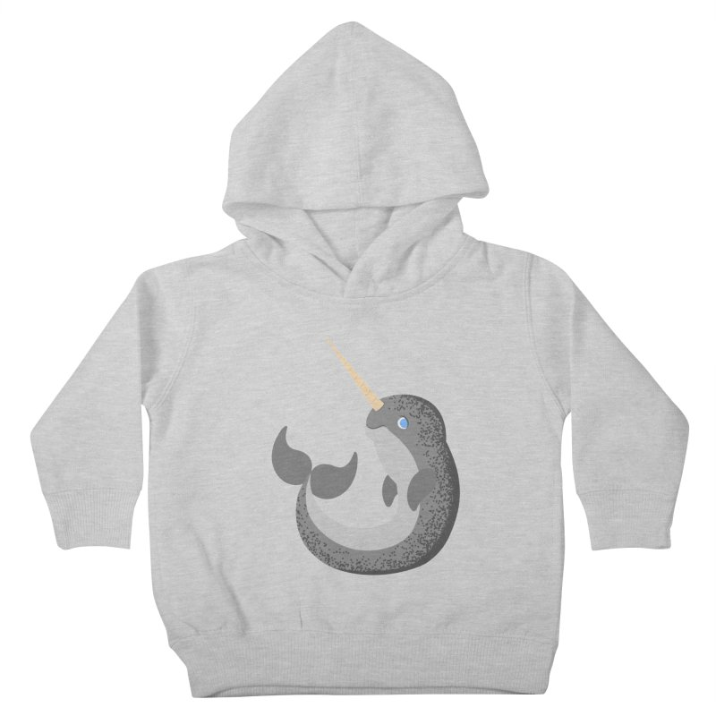Narwhal Narwhal Kids Toddler Pullover Hoody by Bluefeatherkitten's Artist Shop