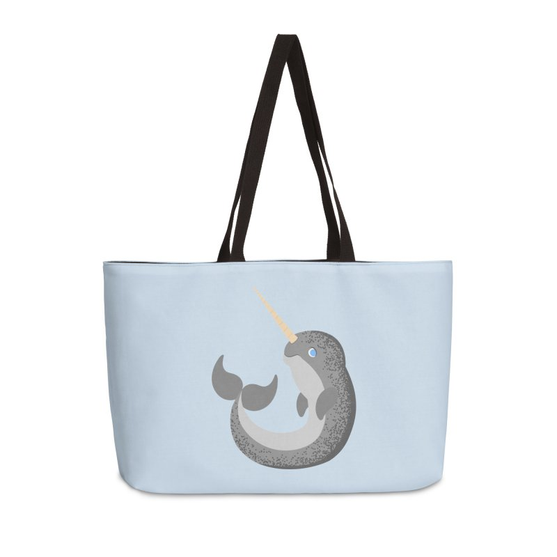 Narwhal Narwhal Accessories Bag by Bluefeatherkitten's Artist Shop