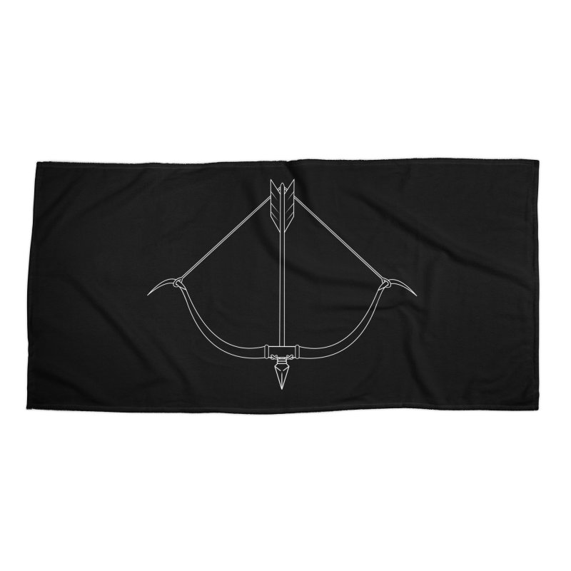 Readied Bow Accessories Beach Towel by Bluefeatherkitten's Artist Shop