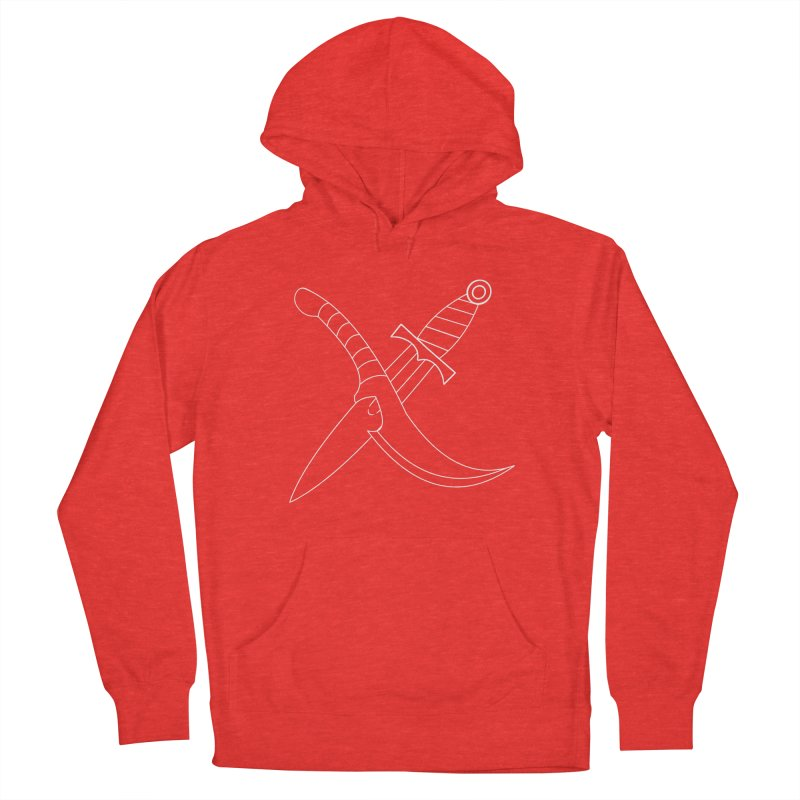 Slice and Dice Women's Pullover Hoody by Bluefeatherkitten's Artist Shop