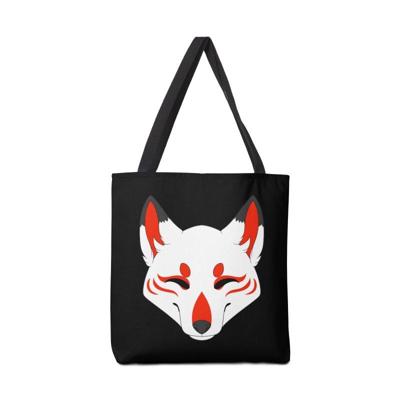 Kitsune (Red) Accessories Bag by Bluefeatherkitten's Artist Shop