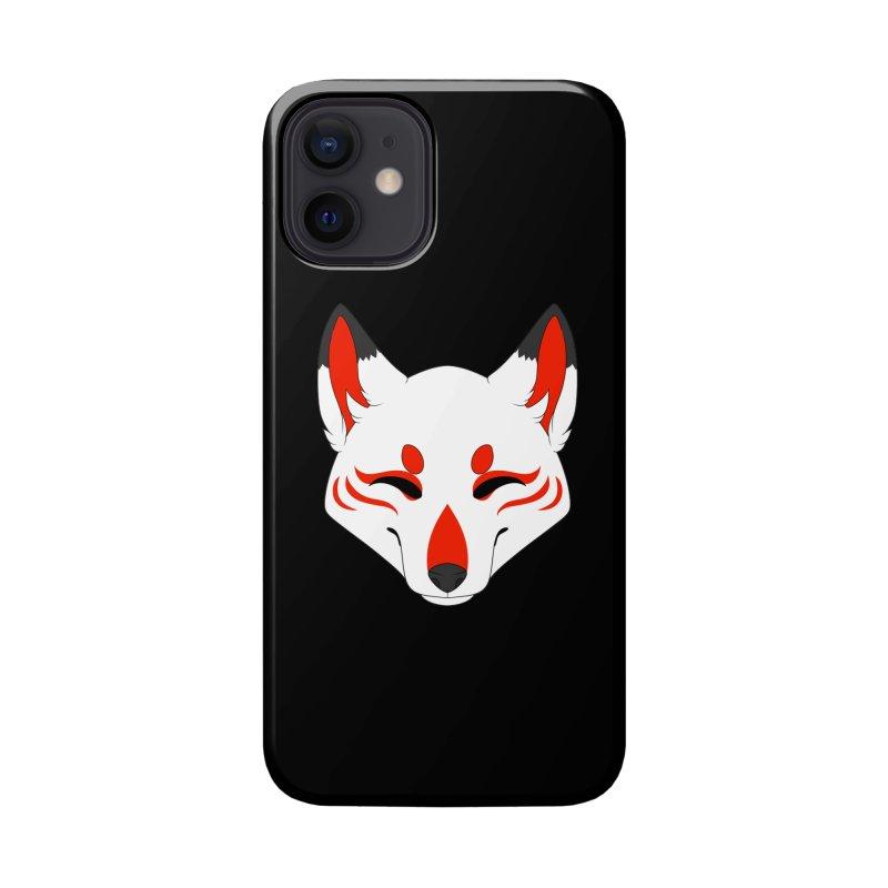 Kitsune (Red) Accessories Phone Case by Bluefeatherkitten's Artist Shop