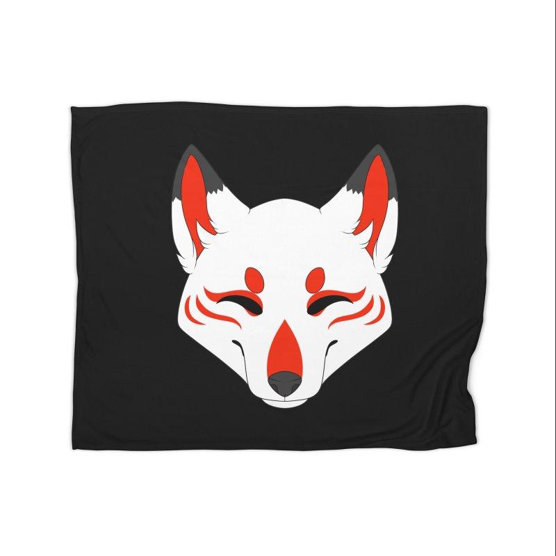 Kitsune (Red) Home Blanket by Bluefeatherkitten's Artist Shop