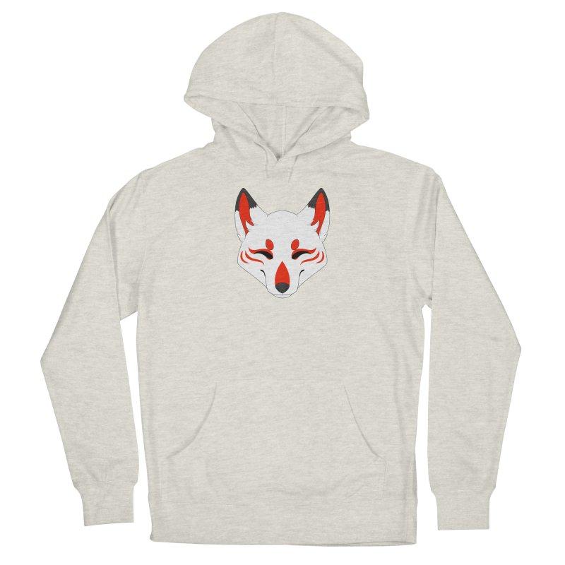 Kitsune (Red) Women's Pullover Hoody by Bluefeatherkitten's Artist Shop