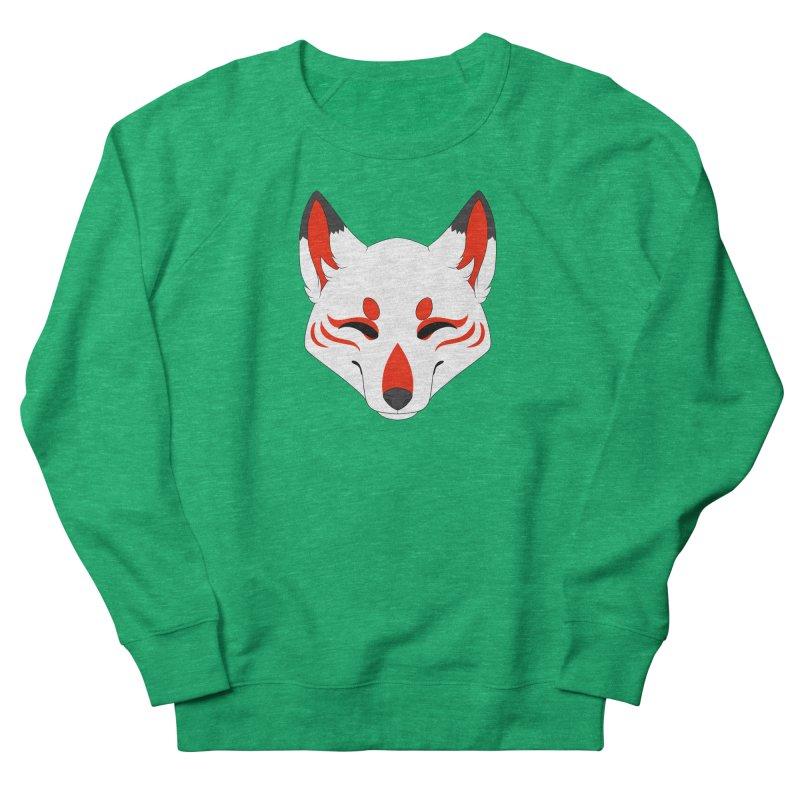 Kitsune (Red) Women's Sweatshirt by Bluefeatherkitten's Artist Shop