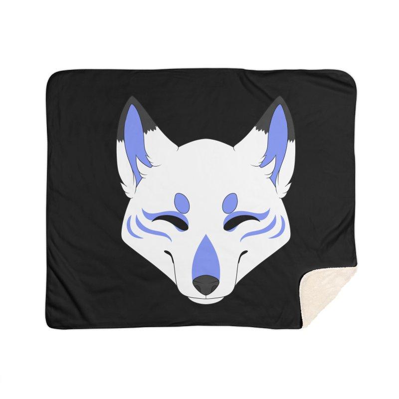 Kitsune (Blue) Home Blanket by Bluefeatherkitten's Artist Shop