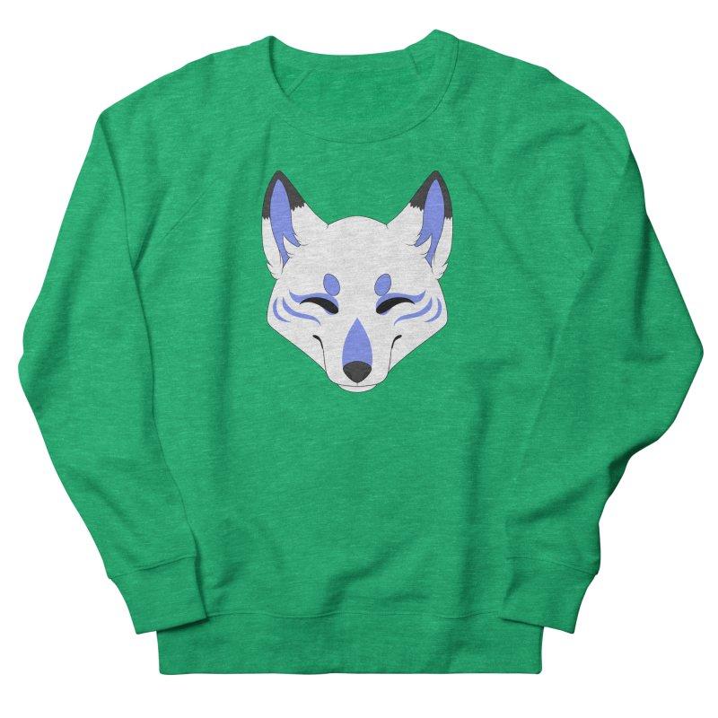 Kitsune (Blue) Women's Sweatshirt by Bluefeatherkitten's Artist Shop
