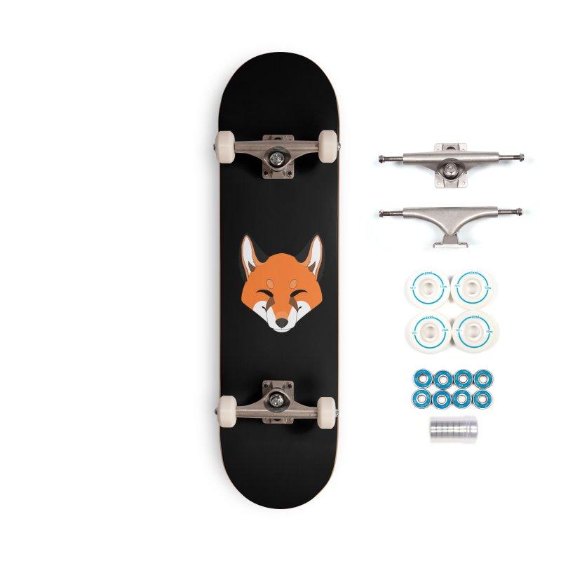 Small Fox Accessories Skateboard by Bluefeatherkitten's Artist Shop