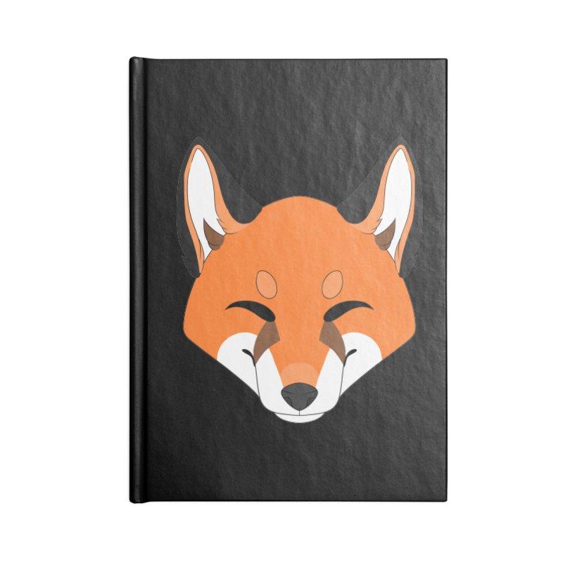 Small Fox Accessories Notebook by Bluefeatherkitten's Artist Shop