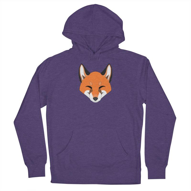 Small Fox Women's Pullover Hoody by Bluefeatherkitten's Artist Shop
