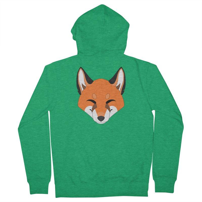 Small Fox Women's Zip-Up Hoody by Bluefeatherkitten's Artist Shop