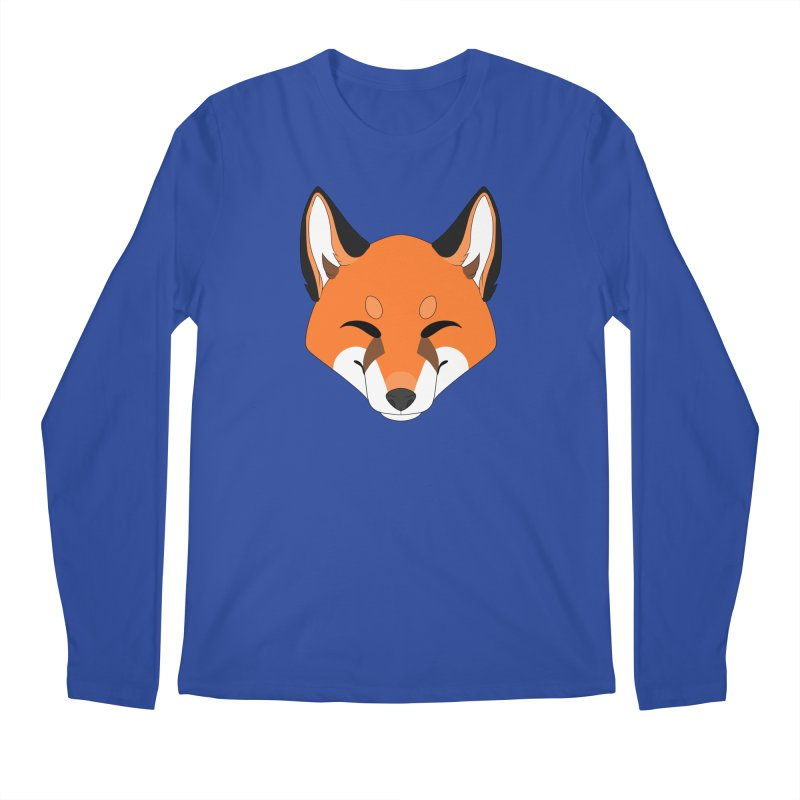 Small Fox Men's Longsleeve T-Shirt by Bluefeatherkitten's Artist Shop