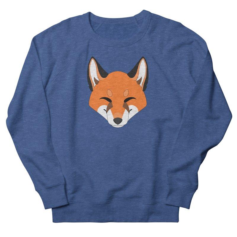 Small Fox Men's Sweatshirt by Bluefeatherkitten's Artist Shop