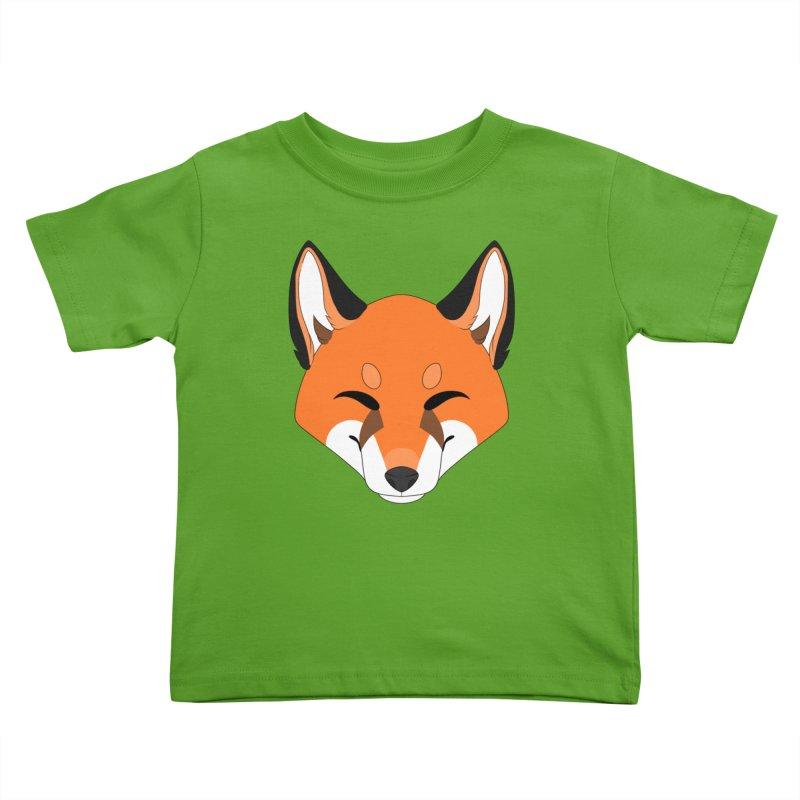 Small Fox Kids Toddler T-Shirt by Bluefeatherkitten's Artist Shop