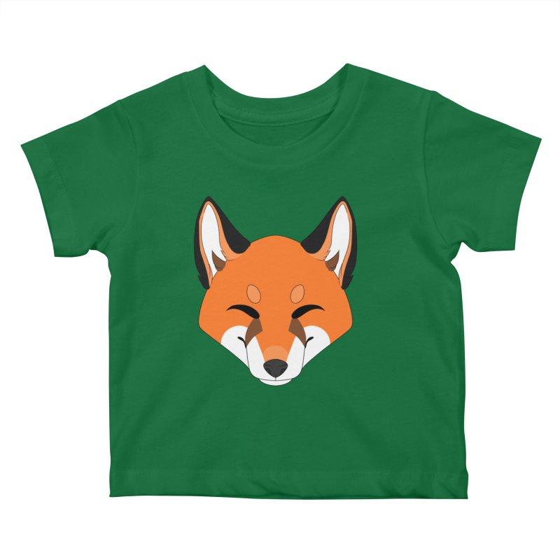 Small Fox Kids Baby T-Shirt by Bluefeatherkitten's Artist Shop
