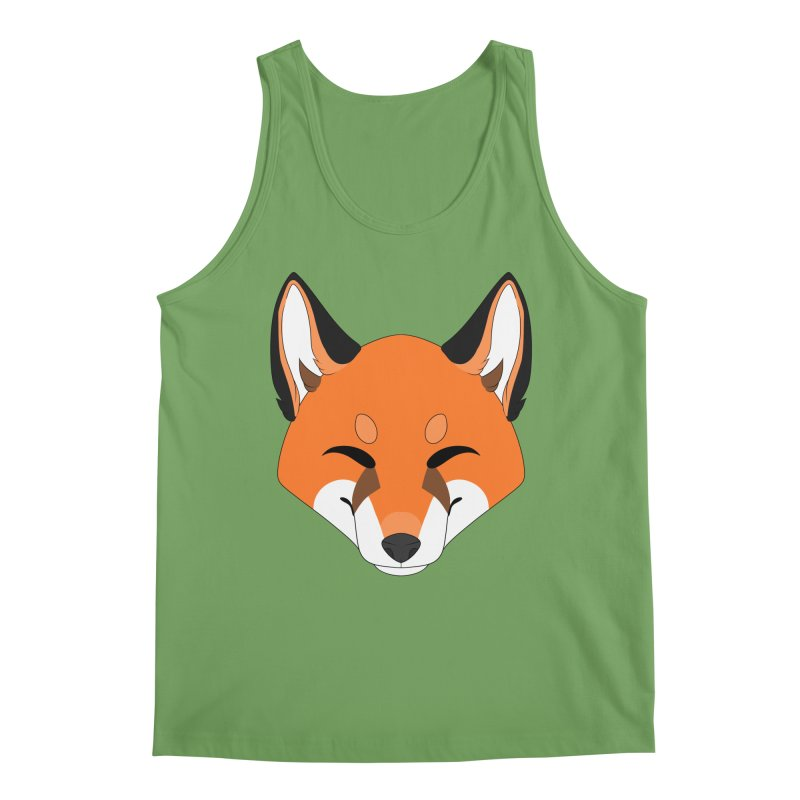 Small Fox Men's Tank by Bluefeatherkitten's Artist Shop