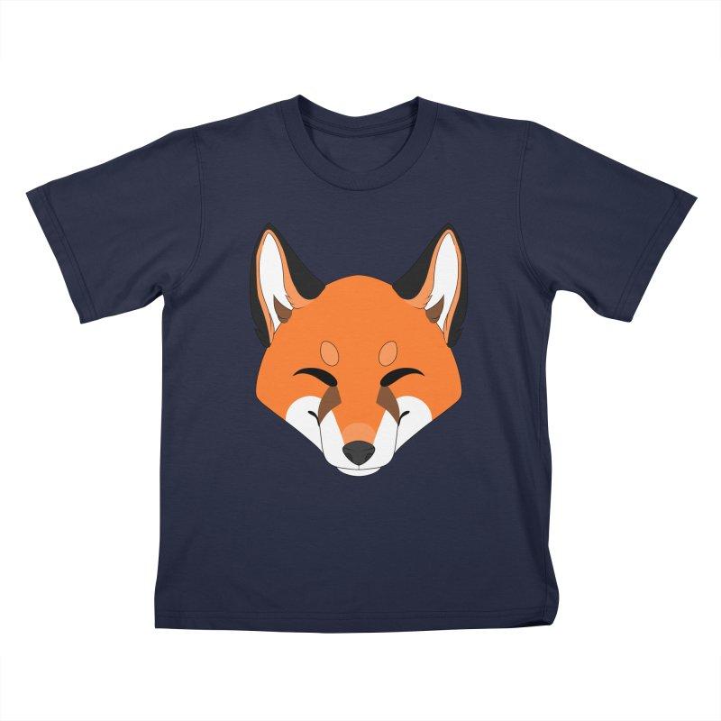 Small Fox Kids T-Shirt by Bluefeatherkitten's Artist Shop